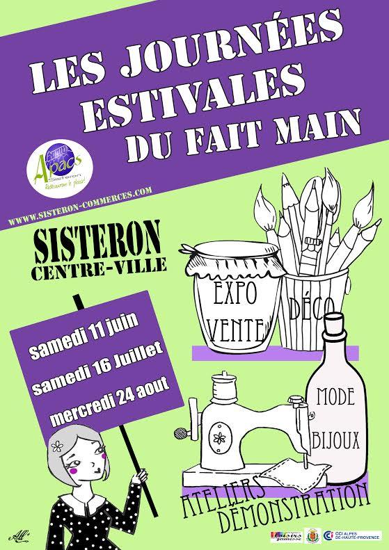 Les journées du fait main de Sisteron